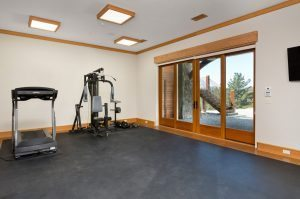 Corporate Retreat venue San Francisco - gym